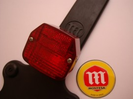 MONTESA COTA 200 NEW TAILLIGHT LICENSE SUPPORT imágenes