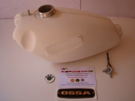 OSSA MICK ANDREWS GAS TANK NEW OSSA MAR FUEL TANK NEW imágenes