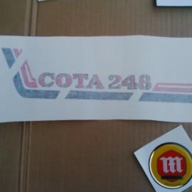 MONTESA COTA 248 KIT DECALS FULL BIKE NEW imágenes
