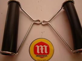 MONTESA COTA 74  NEW BRACKETS HEADLIGHT COTA 123 FRONT LIGHT SUPPORT