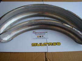 BULTACO ALPINA FENDERS FRONT AND REAR model 85 to 165 imágenes