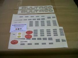 BULTACO ASTRO KIT DECALS  FULL PARTS imágenes