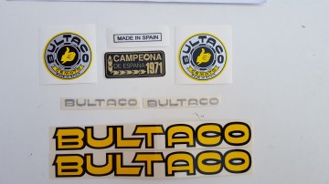 BULTACO SHERPA KIT CAMPEON DECALS KIT NEW BULTACO SHERPA KIT CAMPEON DECALS BULTACO SHERPA imágenes