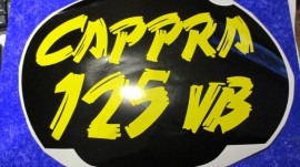 MONTESA CAPPRA 125 VB decal front number plate imágenes