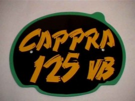 MONTESA CAPPRA 125 VB FRONT NUMBER PLATE + DECAL imágenes