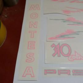 MONTESA COTA 310 KIT DECALS FULL BIKE NEW imágenes