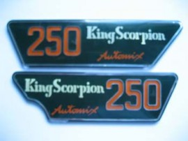 MONTESA KING SCORPION NEW SET DECALS imágenes