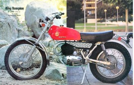 MONTESA SCORPION - KING SCORPION NEW SET OF FENDERS FRONT AND REAR MUDGUARD imágenes