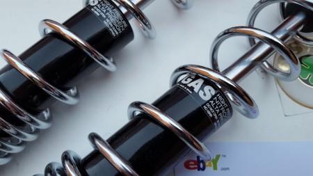 NEW OSSA EXPLORER SHOCKS 360mm REAR SHOCKS OSSA EXPLORER imágenes