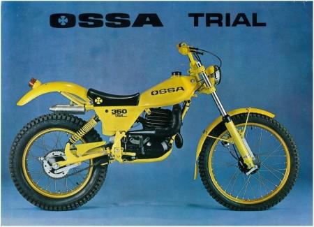 OSSA TR80 CHAIN GUARD NEW OSSA TR 80 CHAIN GUARD OSSA YELLOW MUDGUARDS OSSA 350 MUDGUARDS imágenes