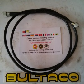 BULTACO ALPINA CABLE SPEEDOMETER REAR WHEEL NEW imágenes