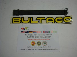 BULTACO FRONTERA RUBBER STRAP TOOL BOX NEW WITH LOGO imágenes