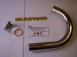 BULTACO MERCURIO PIPE EXHAUST + NUT CYLINDER MERCURIO 9-22-155 imágenes