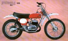BULTACO PURSANG 125cc  MK7 SHOCKS NEW imágenes