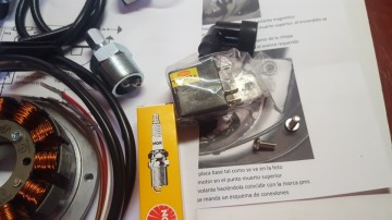 BULTACO SHERPA ELECTRONIC IGNITION 12v KIT PARTS NEW imágenes