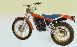 MONTESA COTA 335 TRAIL SET FENDERS FRONT AND REAR MUDDGUARDS COTA 335 TRAIL imágenes