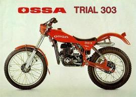 OSSA 303 SEAT NEW imágenes