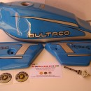 BULTACO ALPINA 187 GAS TANK AND SIDE PANELS NEW