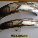 BULTACO FRONTERA FENDERS SET FRONT AND REAR NEW