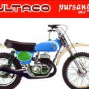 FENDERS BULTACO PURSANG MK7 NEW FIBER GLASS MUDGUARDS BULTACO PURSANG MK7