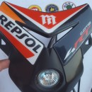 MONTESA COTA 4RT HEADLIGHT SPECIAL PART REPSOL NEW MONTESA 4RT HEADLIGHT MONTESA 300RR HEADLIGHT