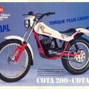 MONTESA COTA 200 KIT DECALS FULL BIKE NEW