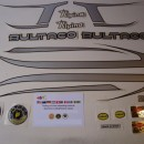BULTACO ALPINA 187 SET DECALS FULL BIKE BULTACO ALPINA DECALS KIT