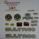 DECALS BULTACO PURSANG MK9 250cc MODEL 167 FULL KIT DECALS BULTACO PURSANG 162