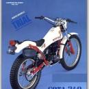 MONTESA COTA 349 mk2 NEW FRONT MUDGUARD - FENDER