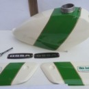 OSSA MICK ANDREWS GAS TANK ALLOY + SIDE PANELS NEW OSSA MAR ALLOY PETROL TANK + SIDE PANELS TOLL BOX OSSA MICK ANDREWS