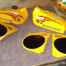 BULTACO PURSANG 125 MK10 MODEL 194 GAS TANK + SIDE PANELS NEW BODY KIT BULTACO PURSANG MK10