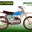 BULTACO PURSANG MK8 KIT DECALS MODEL