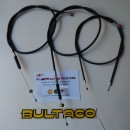 BULTACO ALPINA SET CABLES BRAKE CLUTCH THORTLE BULTACO SEAT CABLES ALPINA