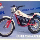 MONTESA COTA 123 KIT DECALS FULL BIKE NEW