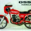OSSA COPA 250 GP III SEAT COVER NEW