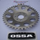 OSSA MAR REAR SPROCKET 46T OSSA MICK ANDREWS REAR SPROCKET 46T NEW OSSA