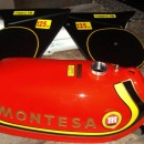 MONTESA CAPPRA 125 VB KIT GAS TANK + SIDE PANELS