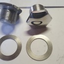 MONTESA COTA 25 FORK NUTS ( PAIR ) MONTESA COTA 25 FOR NUTS NEW