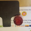 MONTESA COTA 49 RUBBER REAR NUMBER PLATE HOLDER MONTESA COTA TAILLIGHT RUBBER HOLDER PLATE