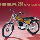 NEW OSSA EXPLORER SET OF FENDERS FRONT AND REAR ALUMINIUM MUDGUARDS OSSA EXPLORER