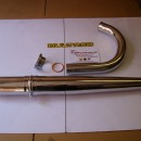 BULTACO MERCURIO FULL EXHAUST LINE MERCURIO 22 - 155 - 9
