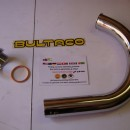 BULTACO TRALLA PIPE EXHAUST + NUT CYLINDER TRALLA 101-102