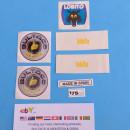 DECALS BULTACO LOBITO 175cc NEW KIT DECALS BULTACO LOBITO NEW LOBITO 175 DECALS