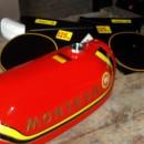 MONTESA CAPPRA 125 VB KIT GAS TANK + SIDE PANELS