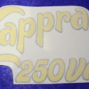 MONTESA CAPPRA 250 VA decal front number plate