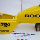 OSSA TR80 GAS TANK BODY KIT OSSA TR GAS TANK OSSA TR FUEL TANK OSSA YELLOW  OSSA 350 TRIAL FUEL TANK