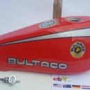 BULTACO SHERPA 182 PETROL TANK  NEW BULTACO SHERPA T GAS TANK  NEW