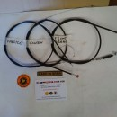 BULTACO SHERPA KIT CABLES CLUTCH, BRAKE, THORTTLE NEW