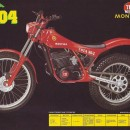 MONTESA COTA 304 SET FENDERS FRONT AND REAR MUDDGUARDS COTA 307