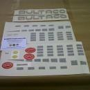 BULTACO ASTRO KIT DECALS  FULL PARTS